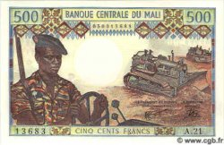 500 Francs MALI  1984 P.12e NEUF