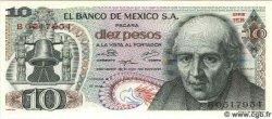 10 Pesos MEXIQUE  1975 P.063h NEUF