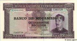 500 Escudos MOZAMBIQUE  1976 P.118 NEUF