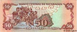 50 Cordobas NICARAGUA  1985 P.153 NEUF