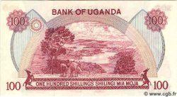 100 Shillings OUGANDA  1982 P.19b NEUF