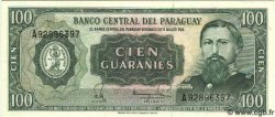 100 Guaranies PARAGUAY  1982 P.205 NEUF