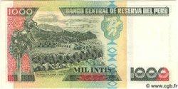 1000 Intis PÉROU  1988 P.136b NEUF