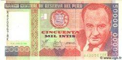 50000 Intis PÉROU  1988 P.142 NEUF