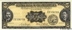 5 Pesos PHILIPPINES  1949 P.135e NEUF