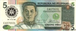 5 Piso PHILIPPINES  1986 P.175d NEUF