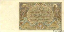 10 Zlotych POLOGNE  1929 P.069 NEUF
