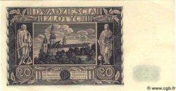 20 Zlotych POLOGNE  1936 P.077 pr.NEUF