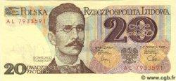 20 Zlotych POLOGNE  1982 P.149 NEUF