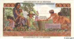 100 Nouveaux Francs sur 5000 Francs ÎLE DE LA RÉUNION  1971 P.56b NEUF