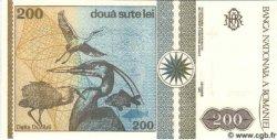 200 Lei ROUMANIE  1992 P.100 NEUF