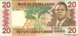 20 Leones SIERRA LEONE  1988 P.16 pr.NEUF