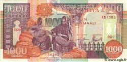 1000 Shillings SOMALIE RÉPUBLIQUE DÉMOCRATIQUE  1990 P.37a NEUF