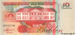 10 Gulden SURINAM  1991 P.137a NEUF
