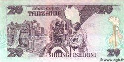 20 Shilingi TANZANIE  1987 P.15 NEUF