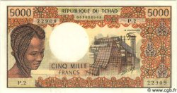 5000 Francs TCHAD  1978 P.05b NEUF