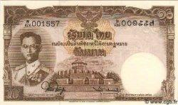 10 Baht THAÏLANDE  1953 P.076d pr.NEUF