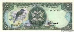 5 Dollars TRINIDAD et TOBAGO  1985 P.37c NEUF