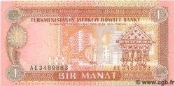 1 Manat TURKMÉNISTAN  1993 P.01 NEUF