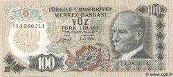 100 Lira TURQUIE  1972 P.189 NEUF
