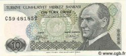 10 Lira TURQUIE  1987 P.192 NEUF
