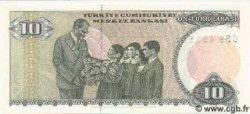 10 Lira TURQUIE  1987 P.192
