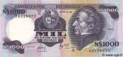 1000 Nuevos Pesos URUGUAY  1981 P.064b NEUF