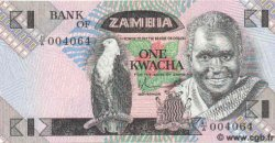 1 Kwacha ZAMBIE  1988 P.23a NEUF