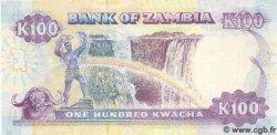 100 Kwacha ZAMBIE  1991 P.34 NEUF
