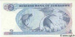 2 Dollars ZIMBABWE  1983 P.01b NEUF