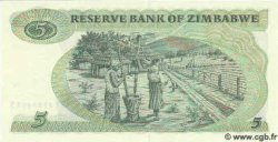 5 Dollars ZIMBABWE  1983 P.02c NEUF