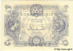 5 Francs TUNISIE  1920 P.01 pr.NEUF