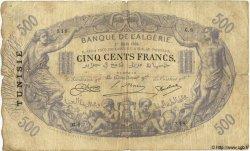 500 Francs TUNISIE  1924 P.05b B+ à TB