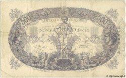 500 Francs TUNISIE  1924 P.05b TTB