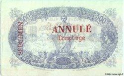 500 Francs TUNISIE  1924 P.05bs SPL