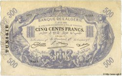 500 Francs TUNISIE  1924 P.05b TB+ à TTB