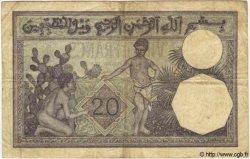 20 Francs TUNISIE  1938 P.06b TB à TTB