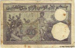 20 Francs TUNISIE  1938 P.06b pr.TB