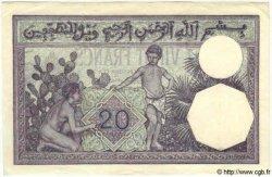20 Francs TUNISIE  1939 P.06b SPL