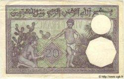 20 Francs TUNISIE  1941 P.06b TTB