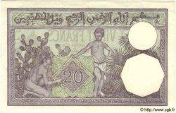 20 Francs TUNISIE  1941 P.06b pr.SPL