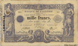 1000 Francs TUNISIE  1918 P.07a pr.TB