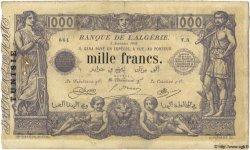1000 Francs TUNISIE  1918 P.07a TB