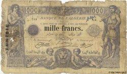 1000 Francs TUNISIE  1923 P.07b AB