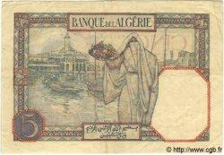 5 Francs TUNISIE  1926 P.08a TTB