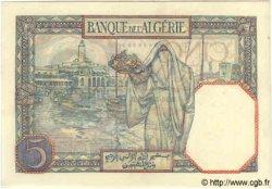 5 Francs TUNISIE  1933 P.08a pr.NEUF