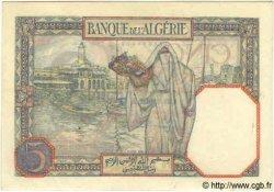 5 Francs TUNISIE  1939 P.08b TTB+