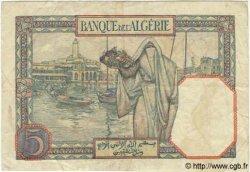 5 Francs TUNISIE  1941 P.08b TB+