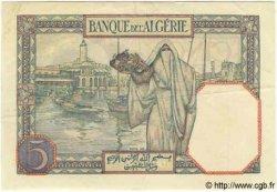 5 Francs TUNISIE  1941 P.08b SUP