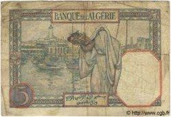 5 Francs TUNISIE  1941 P.08b B+